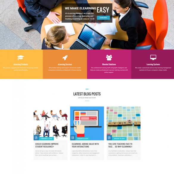eLearning Squared Website