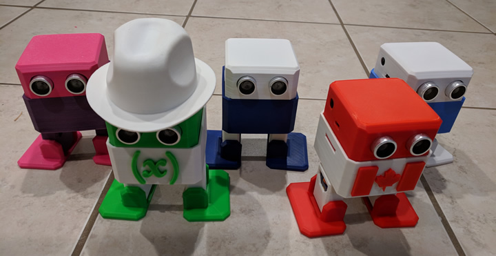 3D Printed Robot Class - The Army