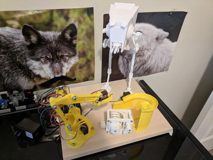 3D Printed AT-ST