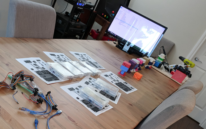 3D Printed Robot Class Setup