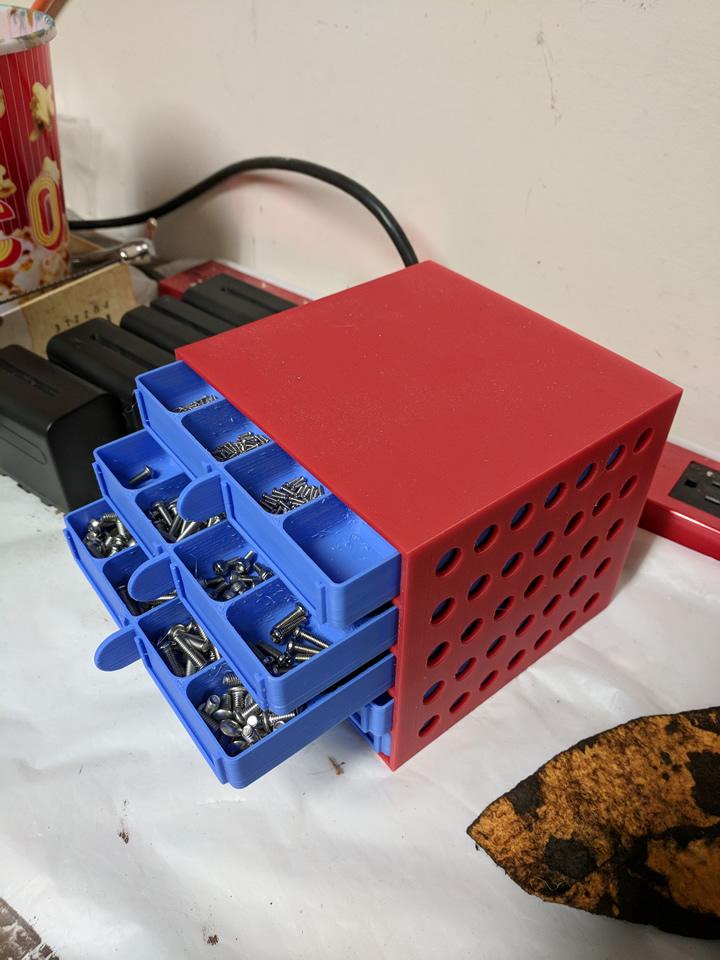 3D Printed Parts Box