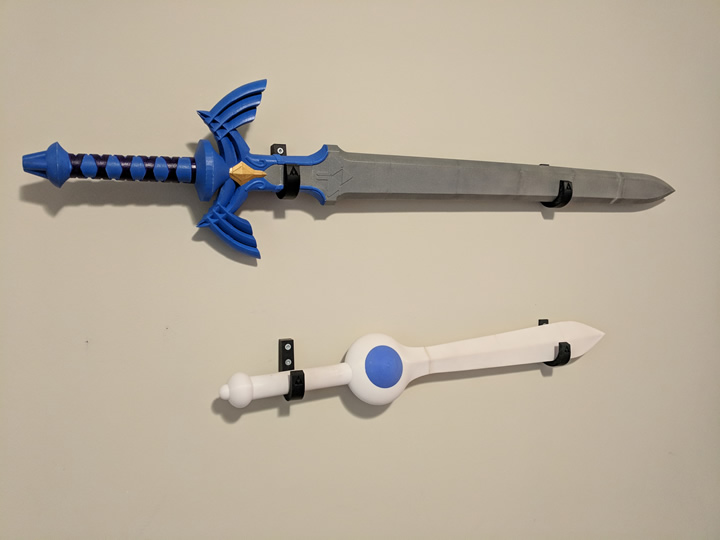 3D Printed Swords