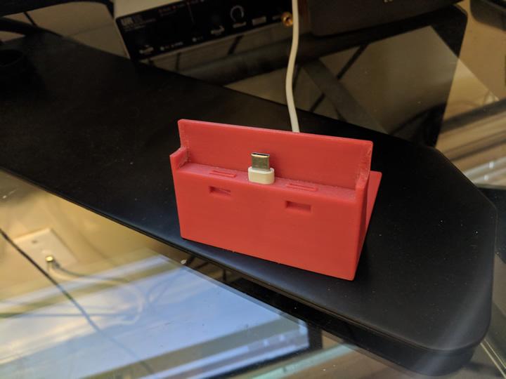 3D Printed Charging Dock