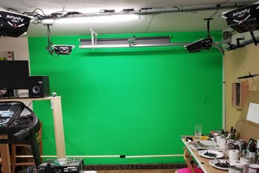 Getting Ready to Rock in 2018, Part 1: Lighting the Greenscreen.